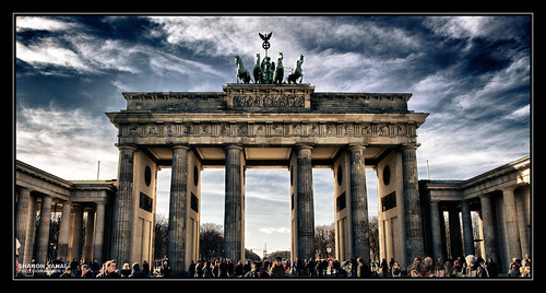 Brandenburg Gate, Berlin - שער ברנדנבורג, ברלין by SharonYanai.com