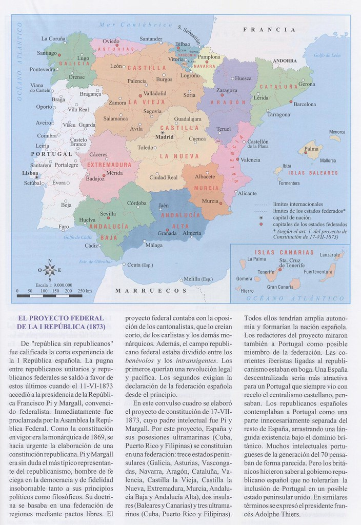 Proyecto de organización territorial federal de 1873