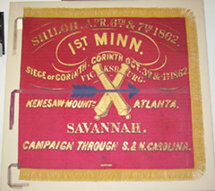 1st Battery Minnesota Light Artillery battle flag