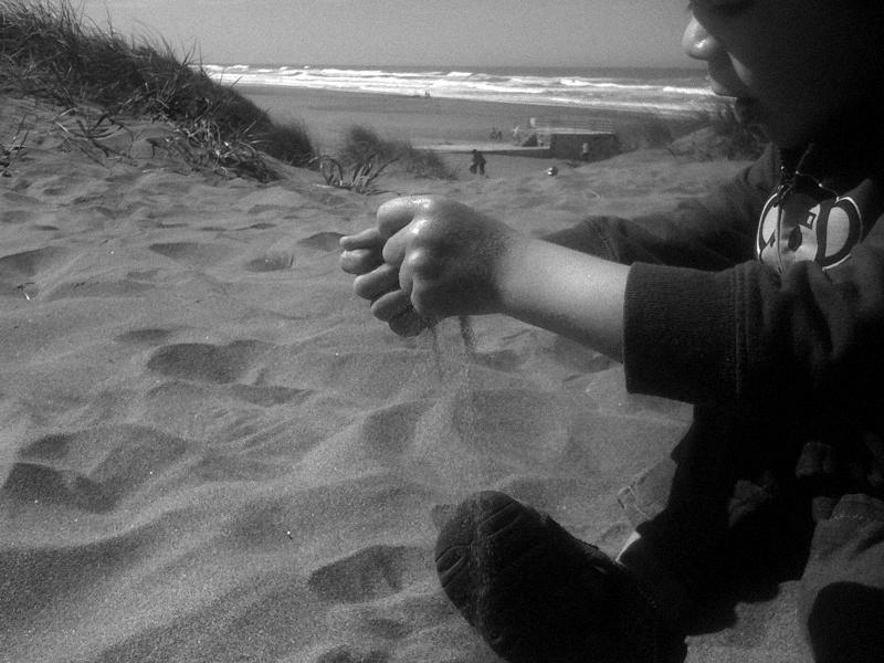 exploring | ocean beach