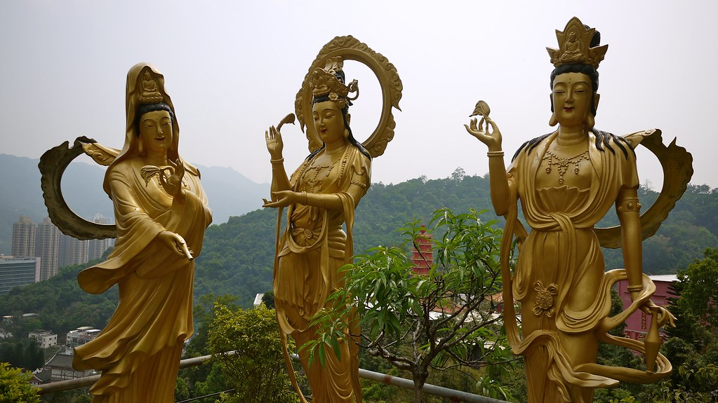 Three Wise Buddhas