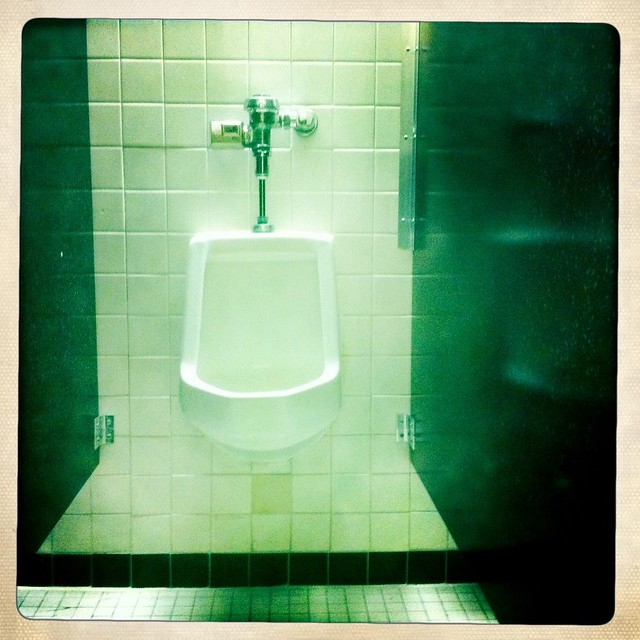I like the convenience of urinals!