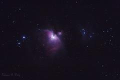Nebulosa de Orion (Orion Nebula) (Fabiano Diniz) Tags: deepspace Astrometrydotnet:status=solved Astrometrydotnet:version=14400 Astrometrydotnet:id=alpha20110465812890 astro:gmt=20110405t2253 astro:subject=orionnebula