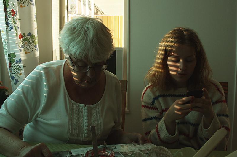 Maris mormor och syster
