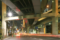 Tanimachi Junction - 09 (Kabacchi) Tags: night tokyo highway  nightview expressway  interchange      jct tanimachijunction ~tanimachijunction~
