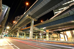 Tanimachi Junction - 02 (Kabacchi) Tags: night tokyo highway  nightview expressway  interchange      jct tanimachijunction ~tanimachijunction~