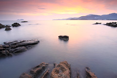 Island Rock - Penang Island, Malaysia (fwukai (in time-lapse mode)) Tags: longexposure sunset seascape rock landscape island asia southeastasia wideangle tokina malaysia penang gnd pulaupinang singhray canon60d islandrock