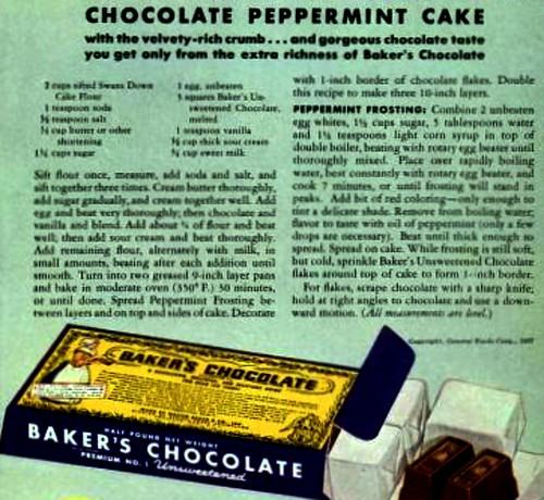 Cake Recipe Life Sept 27 1937