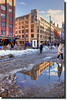 Melt / Disgelo (Fil.ippo) Tags: street snow reflection water helsinki strada melt acqua riflessi hdr filippo riflesso disgelo d5000