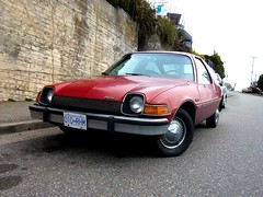 AMC Pacer DL (dave_7) Tags: red car 70s amc dl pacer