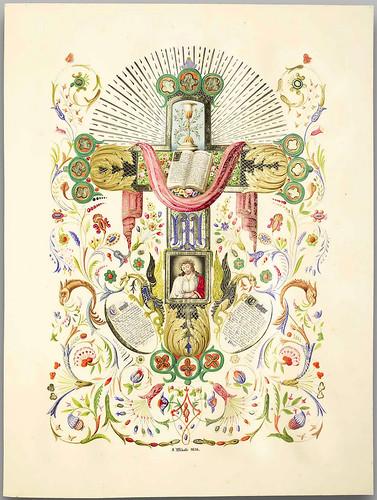 022- L'album du moyen-âge 1836- Jean Midolle