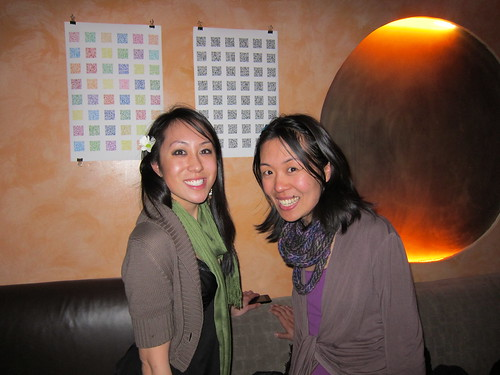 My sister and me at Verlaine!