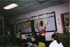 Clown Show Sign