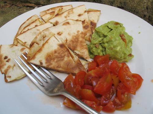 Recipe Friday: Cheese Quesadillas with Guacamole & Salsa ...