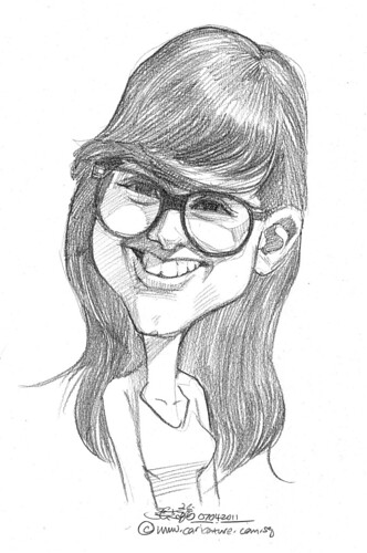 caricature in pencil - 40