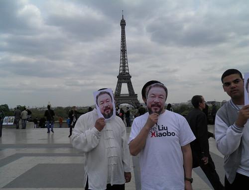 艾未未在巴黎