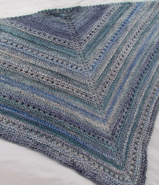Rain City Fiber Arts Silk/Merino Shawl