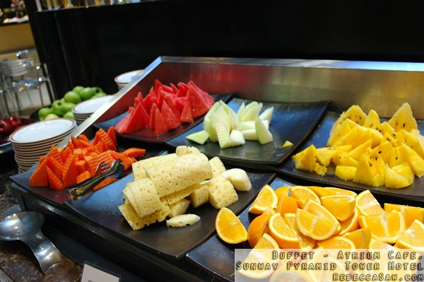 Buffet at Atrium, Sunway Pyramid Tower Hotel-28
