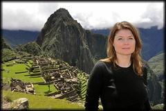 Jill at Machu Picchu