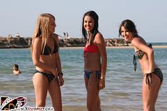 IMG_5576 (Streamer -  ) Tags: ocean blue girls sea two sexy beach boys water hair israel model eyes sand yam teen bikini  tanned  streamer     ashkelon             ashqelon  tzalam