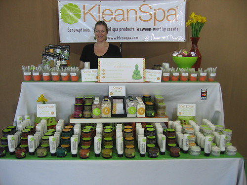 The KleanSpa table
