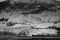 Mass (The Thinner the Air) Tags: blackandwhite mountains river scotland angus glenclova cairngorms