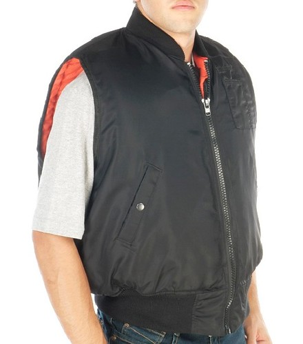 BA7913  Bullet proof Flight Jacket w/o Sleeves