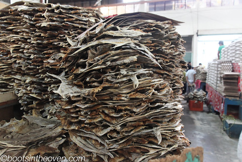 SO much dried, salted fish