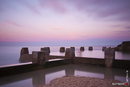 Outside in Pixels Long Exposure Coogee Beach NSW Australia Sydney Seascapes