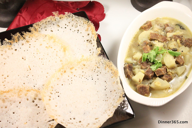 Day 109 - Appam and Beef Stew