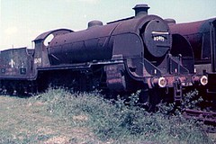 30499 at Barry (Spearmint100) Tags: abandoned barry scrapyard 1977 locomotives s15 urie uksteam 30499 woodhams britishsteamlocomotives