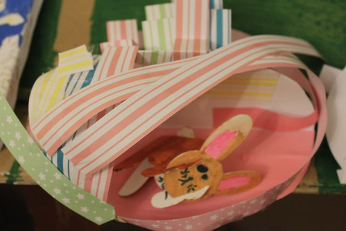 Esther's finished bunny house