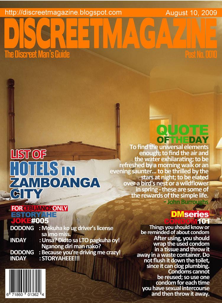 Discreet Magazine August 10 2009
