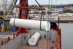 Working Waterfront (Port of San Diego) Tags: windmill marine industrial sandiego terminal cargo cranes shipping 10thavenue tenthavenue portofsandiego barriologan workingwaterfront