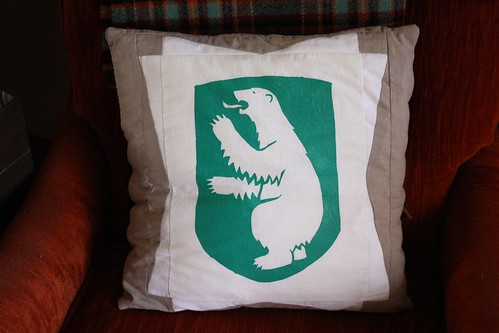 Greenland Coat of Arms Pillow