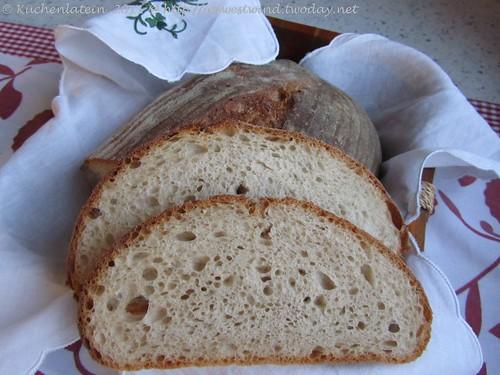 Pain au Levain Trilogie: Weizenmischbrot mit Weizensauerteig
