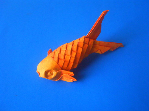 Origami Scaled Fish
