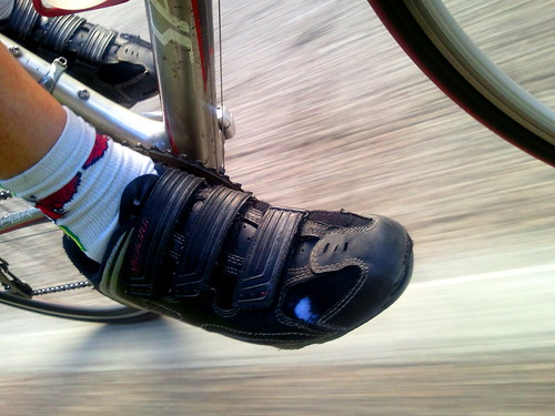 Road bike mountain shoe