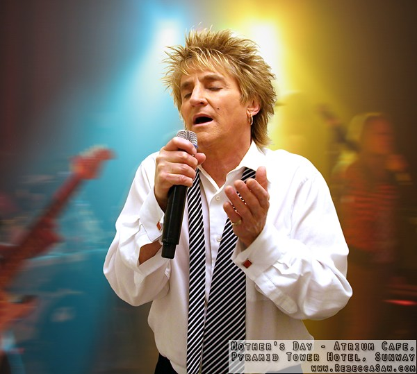 Rod Stewart Tribute Photo new