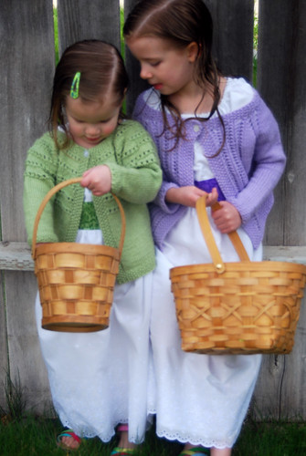 Easter Dresses and Cardigans