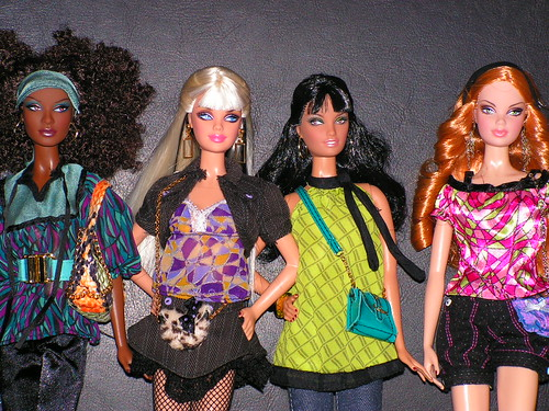 Barbie ModelMuse Top Model Collection by Royalty.Girl