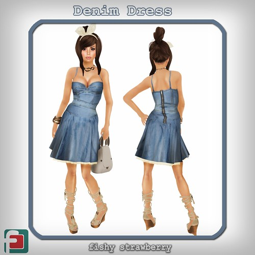 Denim Dress @ Euphoria Fashion Week