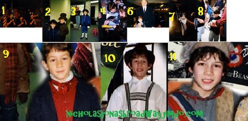 Nicholas Jonas RARE Broadway pics!