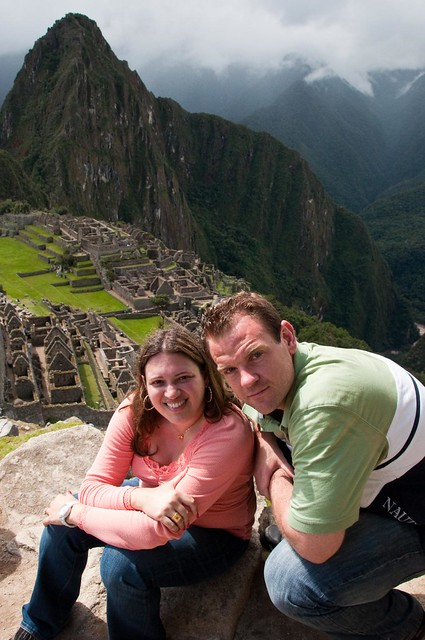 Hubby and I at Machu Picchu