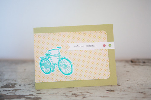 focus on stamps card