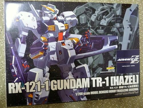 RX-121-1 GUNDAM TR-1[HAZEL]外盒
