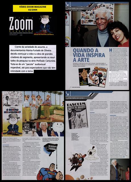 """""""Quando a vida inspira a arte"""" - Vídeo Zoom Magazine - fevereiro/2004"""