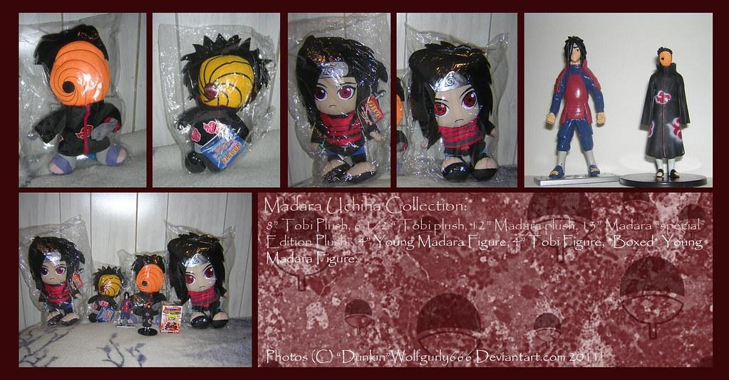 Madara Uchiha Toys/Plushies