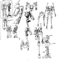 Concept Sketches (m_o_n_k_e_y) Tags: lego space robots scifi sketches mecha conceptart