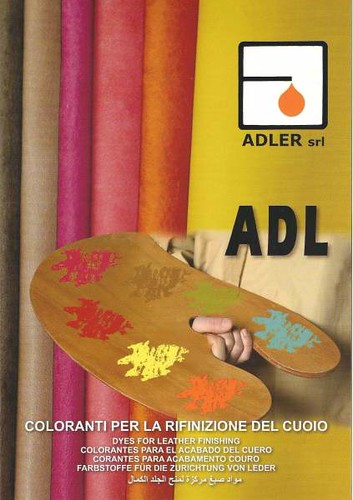 Leather coloring dyes - liquid solutions - Adler
